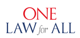 logo One Law for All